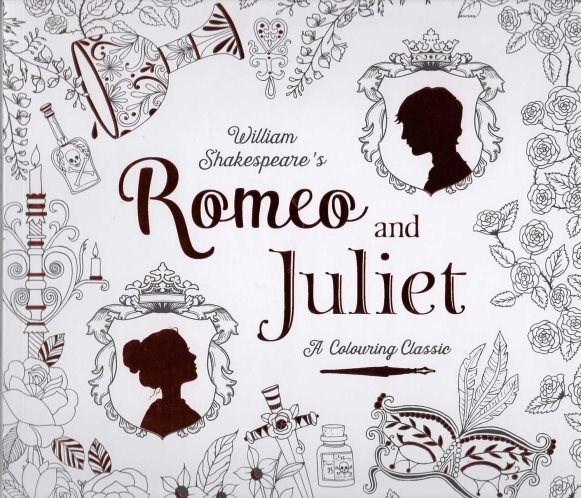 Omalovánka pro dospělé, Romeo and Juliet