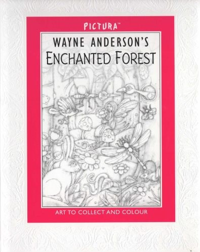 Omalovánka pro dospělé, Enchanted Forest by Pictura