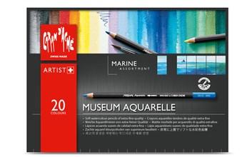 Museum Aquarelle Pencils Marina, 20 ks, Caran d'Ache