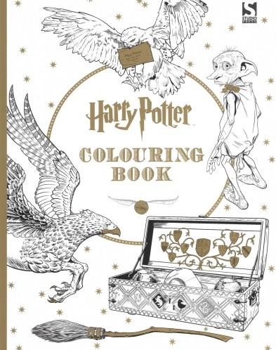 Omalovánka pro dospělé, Harry Potter