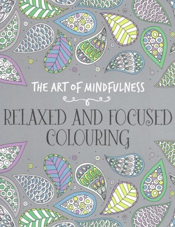 Relaxed and focused colouring, Various illustrators