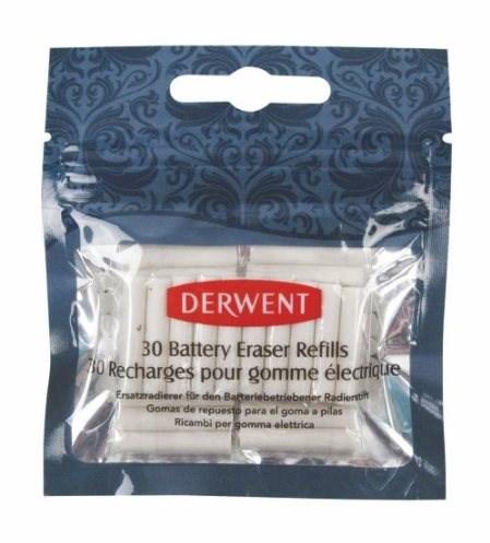 Náhradní gumové špalíky, 30 ks, Derwent