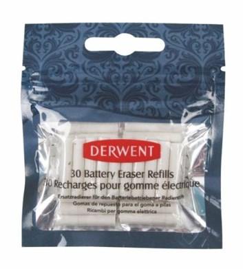 Derwent, 2300023, náhradní gumové špalíky pro bateriovou gumu