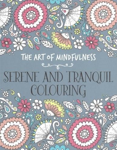 Omalovánka pro dospělé, Serene and tranquil colouring