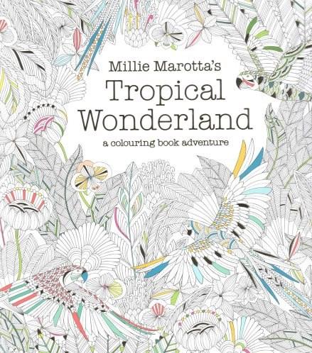 Omalovánka pro dospělé, Tropical Wonderland