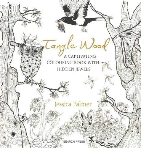 Omalovánka pro dospělé, Tangle Wood