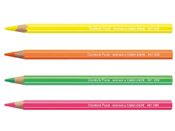 Caran d'Ache, 491.090, Maxi neon, suchý zvýrazňovač neon, růžová