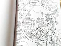Steampunk vol. 2, omalovánky pro dospělé v oblíbeným motivu steampunku.
