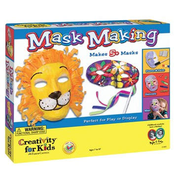 Masky, kreativní sada, Creativity for kids