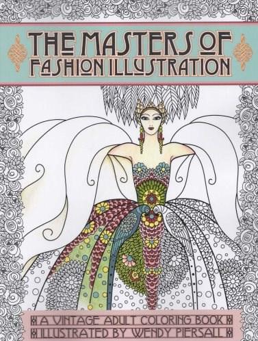 Omalovánka pro dospělé, The Masters of Fashion Illustration