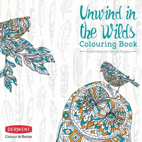 Omalovánka pro dospělé, Unwind in the Wilds, Derwent coloursoft
