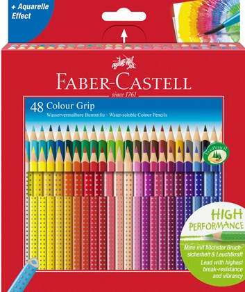 Colour Grip, 48 ks,  Faber-Castell