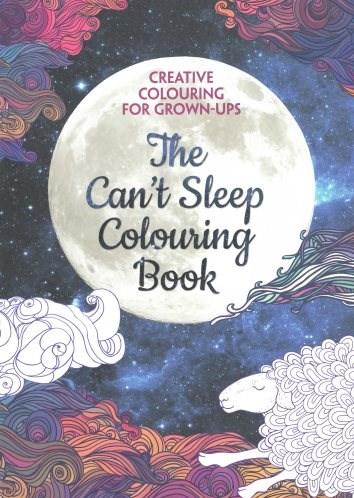 Omalovánka pro dospělé, The can´t sleep colouring book