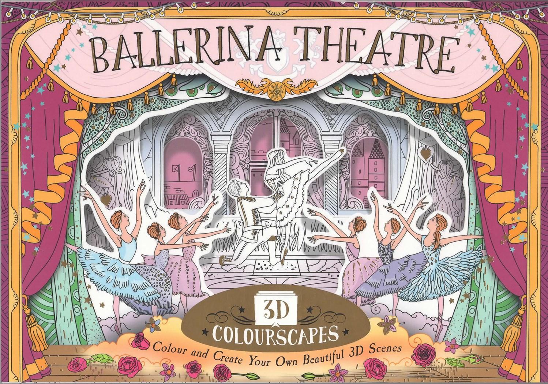 Milujete balet? Pak budete milovat i tuto jedinečnou 3D omalovánku pro dospělé.jpg