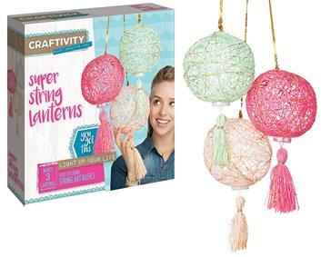 Craftivity, 3503200, kreativní sada, lucerničky