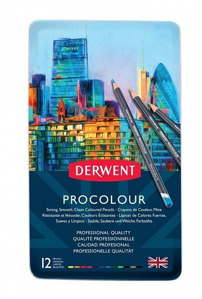 Procolour 12 ks, Derwent