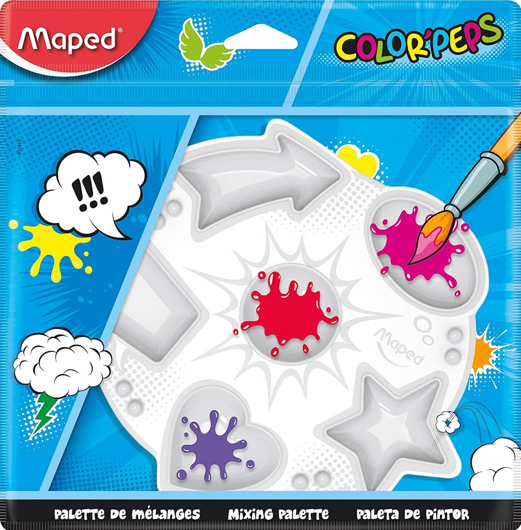 Maped, 811410, Color´ Peps, výtvarná paleta, 1 ks