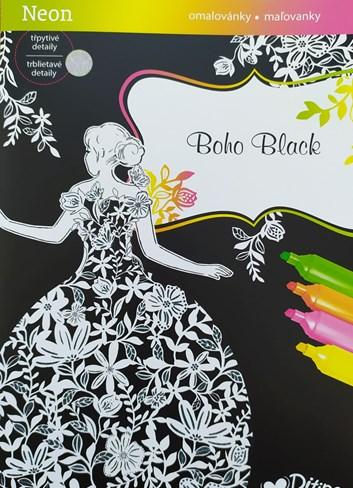 Ditipo, 7005008, Třpytivé malování, Boho black