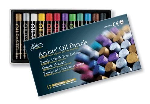 Milujete metalické barvy, pak jsou tyto olejové pastely stvořené právě pro Vás.