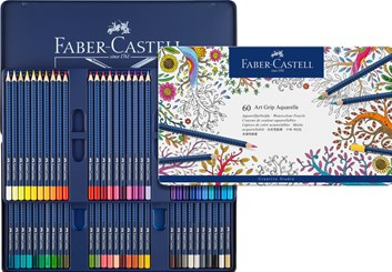 Art Grip Aquarell, 60 ks Faber Castell