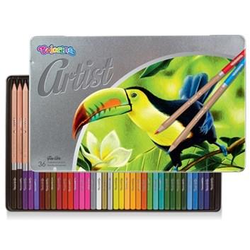 Colorino, Artist, sada pastelek v kovové kazetě, 36 ks