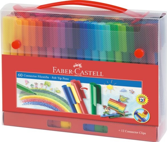 Fixy Connector Faber Castell 60 ks