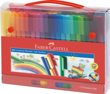 Faber-Castell, 155560, Connector, fixy, 60 ks