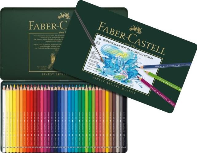 Faber Castell Albrecht Dürer. Akvarelové pastelky nejvyšší kvality rozzáří vaše omalovánky sytými barvami.