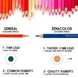 Zenacolor, ZC-CP, sada pastelek, 120 ks