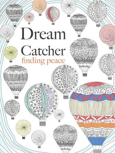 Omalovánka pro dospělé, Dream Catcher, finding of peace
