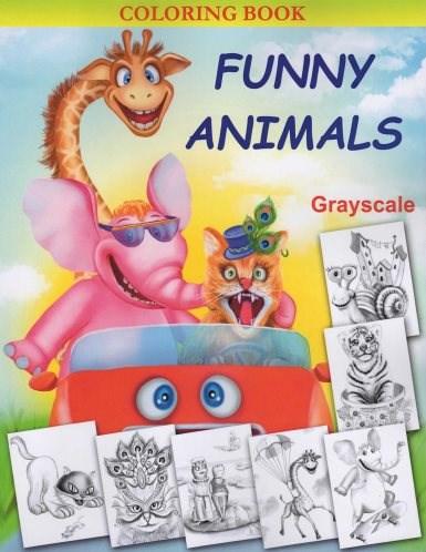 Omalovánky pro dospělé, Funny Animals
