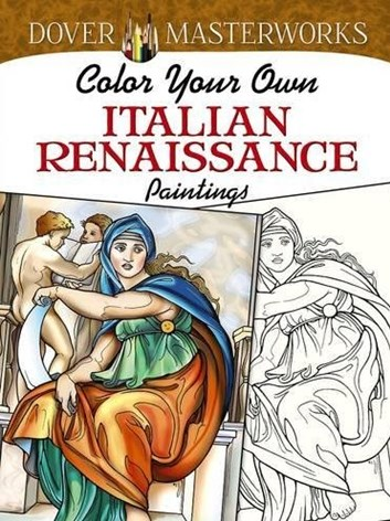 Color Your Own Italian Renaissance, Marty Noble