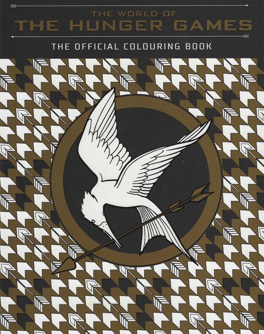 The World of the Hunger Games, antistresové omalovánky pro dospělé na motivy Hladových her.