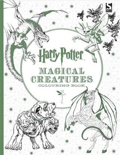 Omalovánka pro dospělé, Harry Potter Magical Creatures