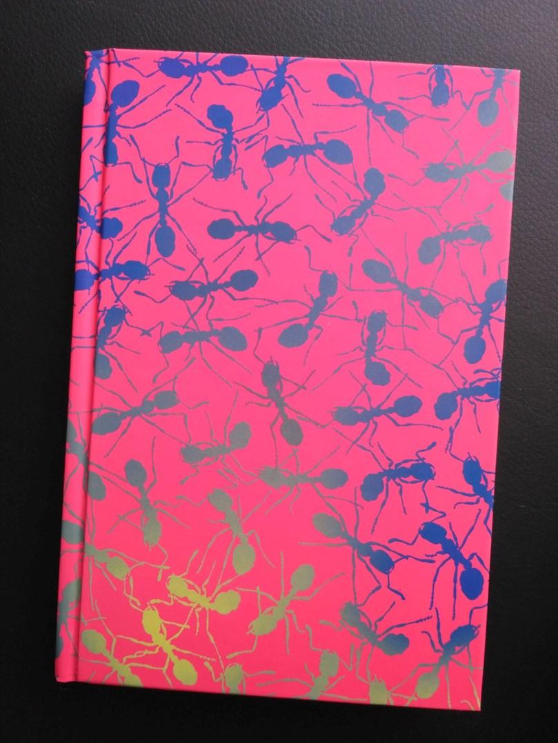 Narcissus, 095, kaligrafický zápisník, tečkovaný, Mravenci, 1 ks