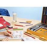 Bic, 961558, Activity case, výtvarný kufřík pro děti, 64 ks + 36 ks