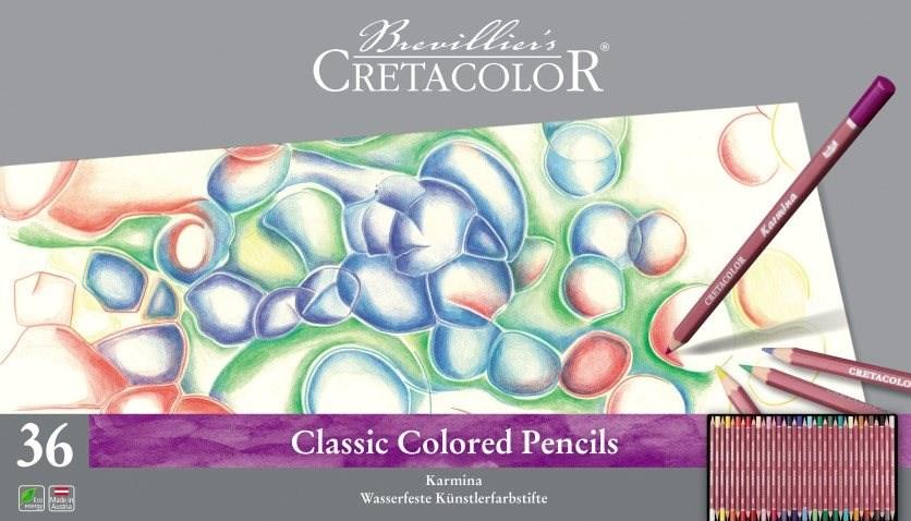 Vysoce kvalitní umělecké pastelky Cretacolor Karmina. Radost z malování se dostaví po první čárce.