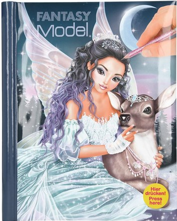Fantasy model, Fantasy model, omalovánky se svítícími a zvukovými efekty