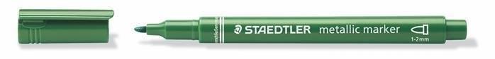 Značkovač metalický zelený, 1 až 2 mm