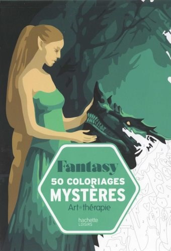 Omalovánka pro dospělé, Fantasy, 50 coloriages mystères