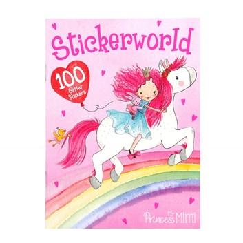 Princess Mimi, Stickerworld, kreativní kniha s nálepkami
