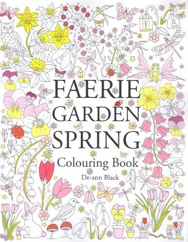 Omalovánka pro dospělé, Faerie Garden Spring