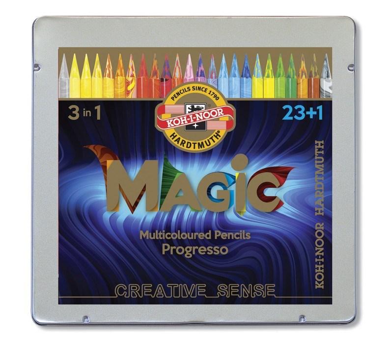 Limitka oblíbených pastelek Magic v laku. Vyzkoušejte duhová Progressa!