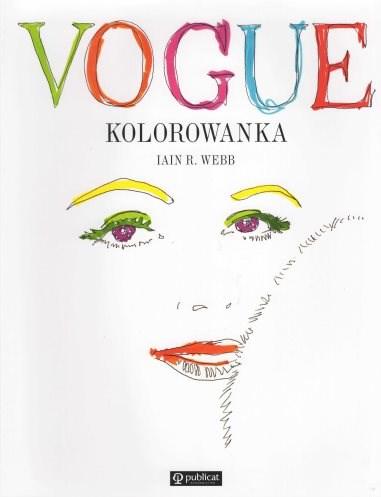 Omalovánka pro dospělé, Vogue