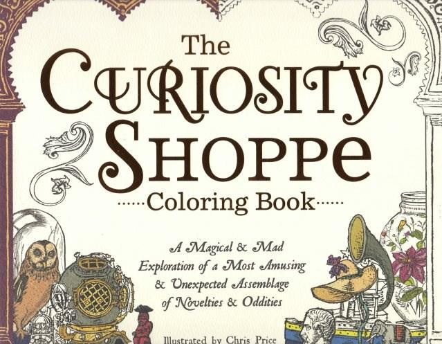 Omalovánka pro dospělé, Curiosity shoppe