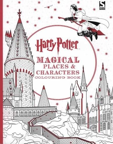 Omalovánka pro dospělé, Harry Potter, Magical Places and Characters