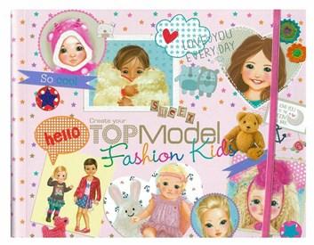 Top model, Fashion Kids, omalovánky pro děti