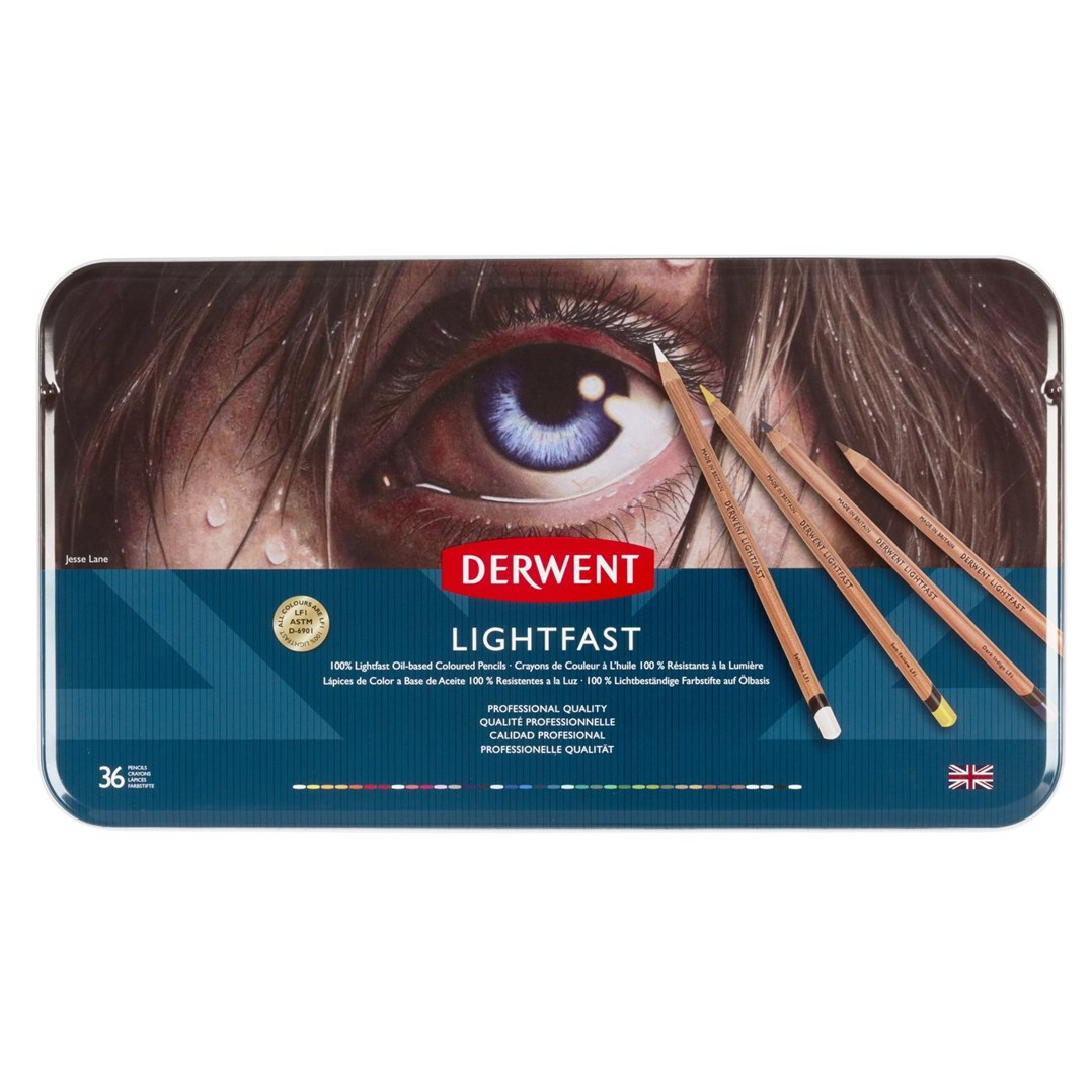 Derwent, 2302721, Lightfast, umělecké pastelky, 36 ks