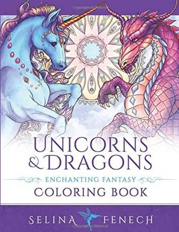 Unicorns and dragons,  Selina Fenech