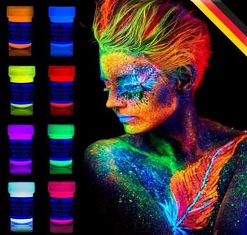 Gelové neonové UV barvy